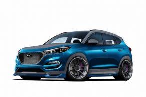 Hyundai Tucson Sport conceitual será mostrado no SEMA Show