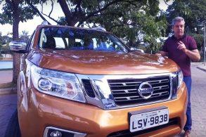 Nissan Frontier colocada à prova