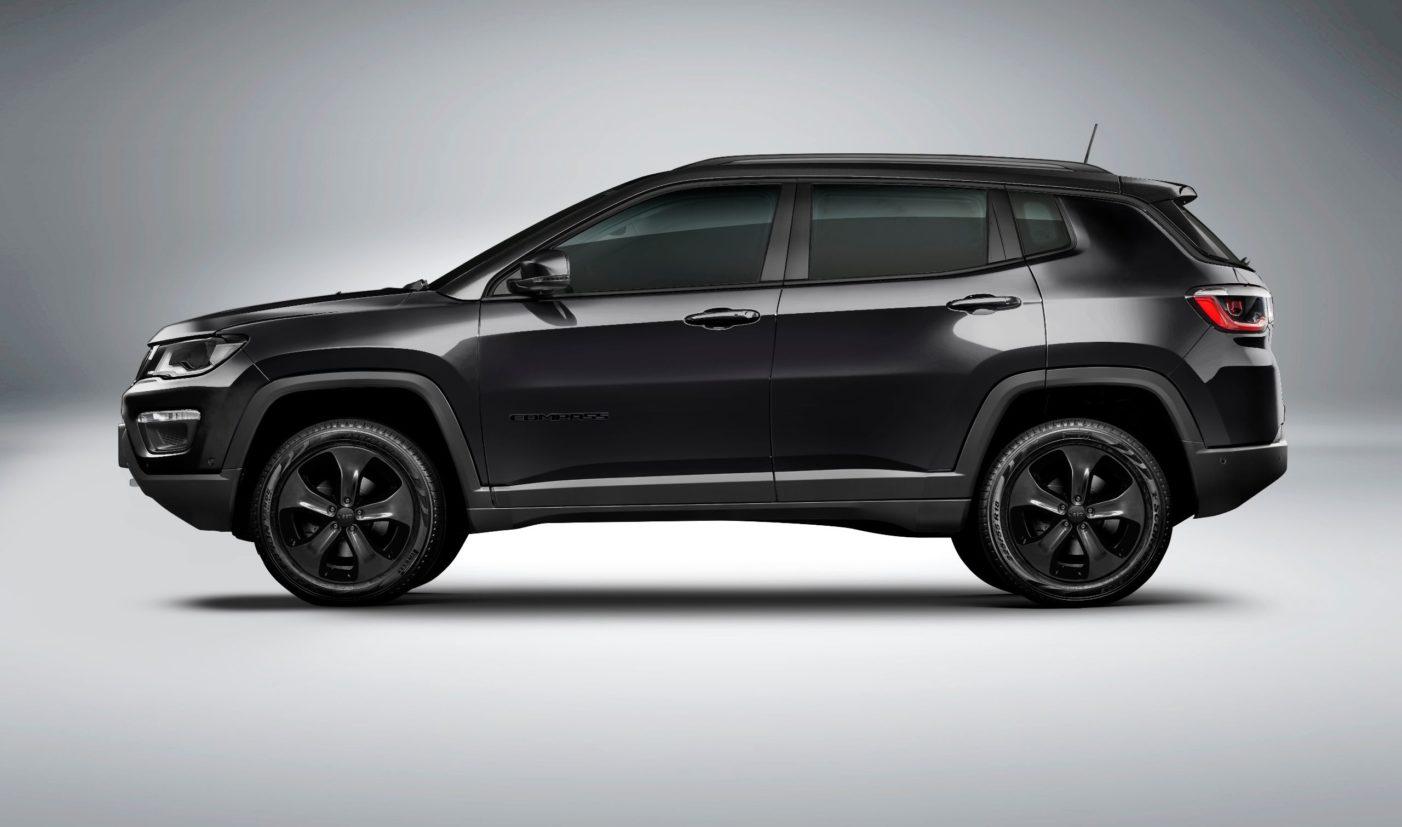 Night Eagle: Jeep Compass em versão dark