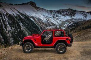 Jeep divulga imagens do novo Wrangler