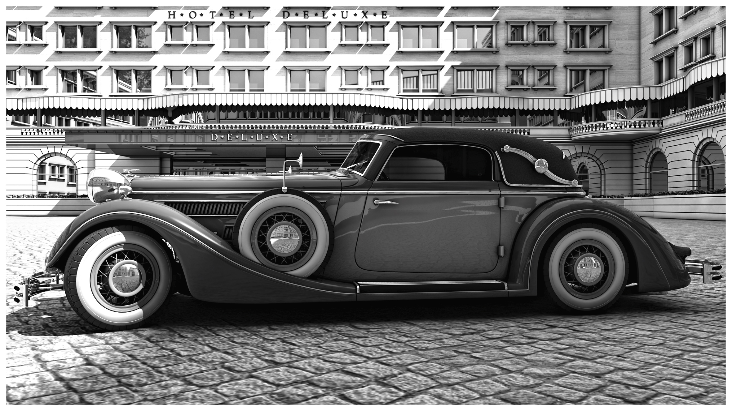 Horch 853 A Sports Cabriolet