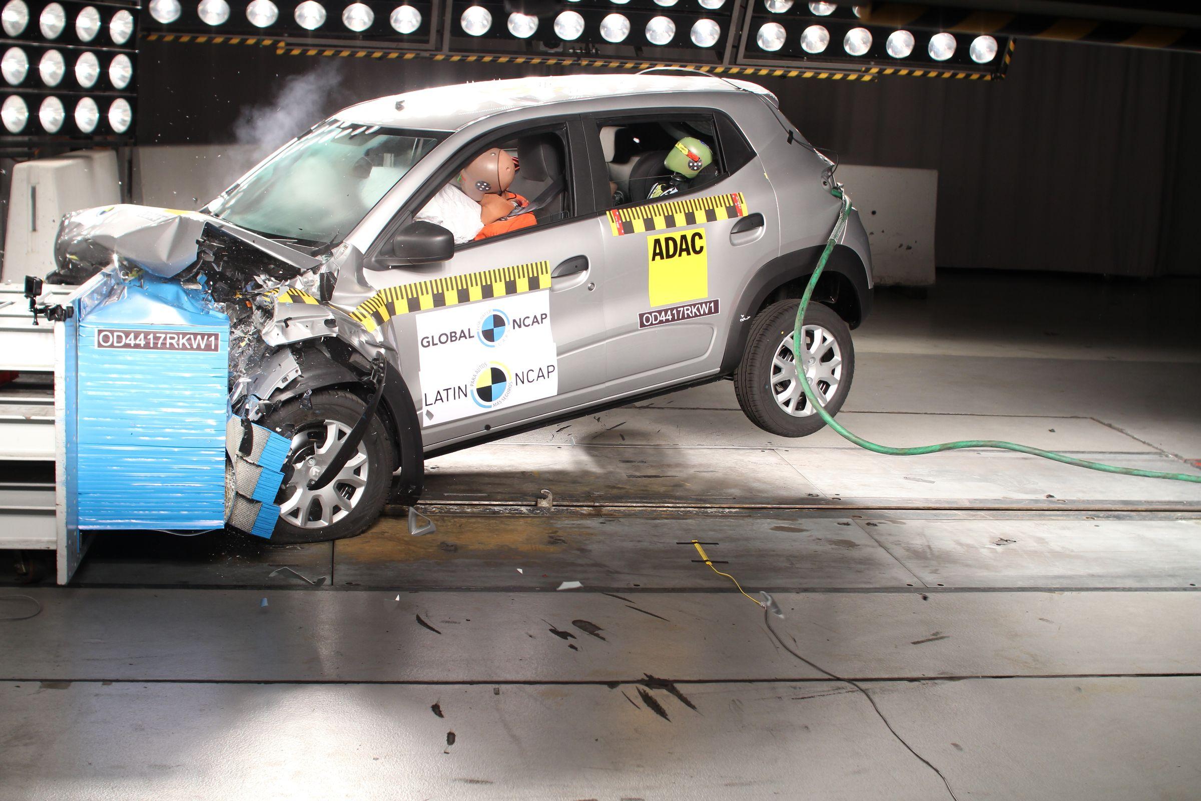 Kwid crash test