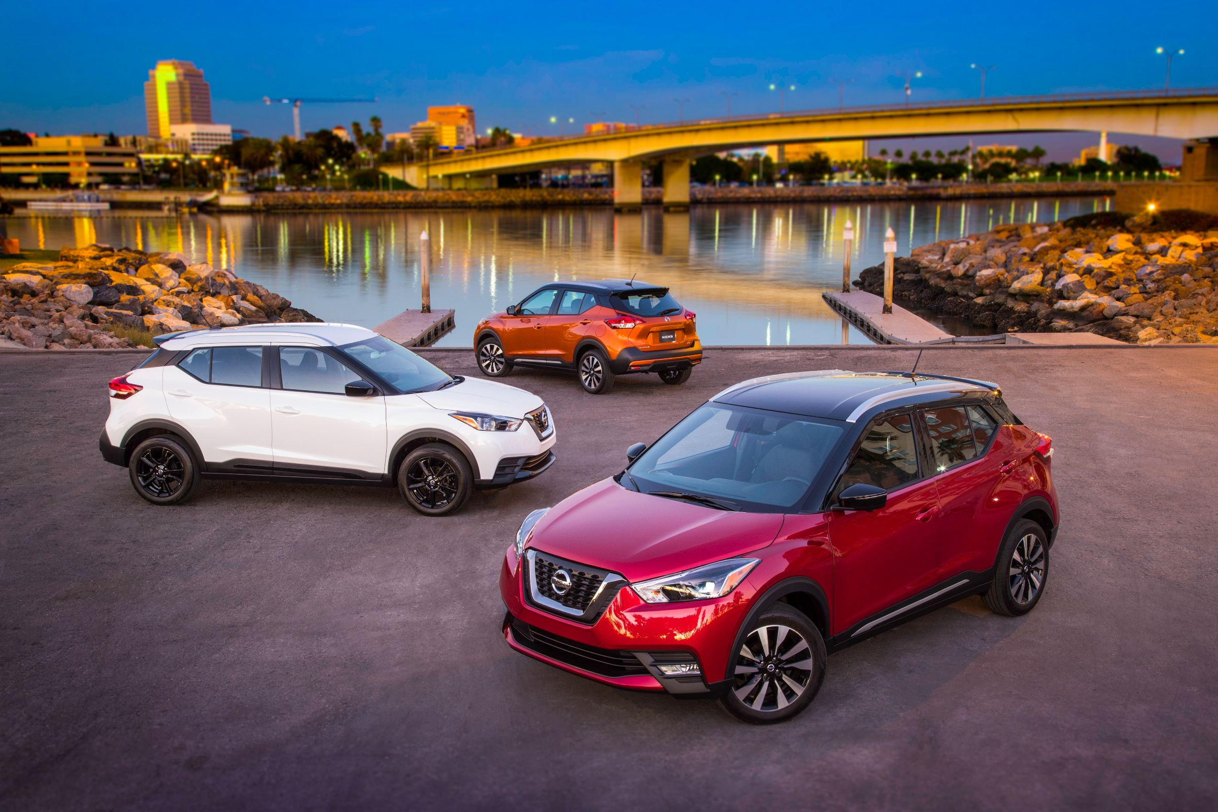 The All New 2018 Nissan Kicks, The Newest Entry In The Fast Growing  Affordable Compact Crossover Market, Made Its North American Debut Today At  The Los ...