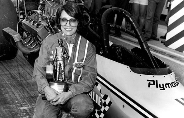 shirley muldoney piloto top ful com troféu mulheres dirigem mal
