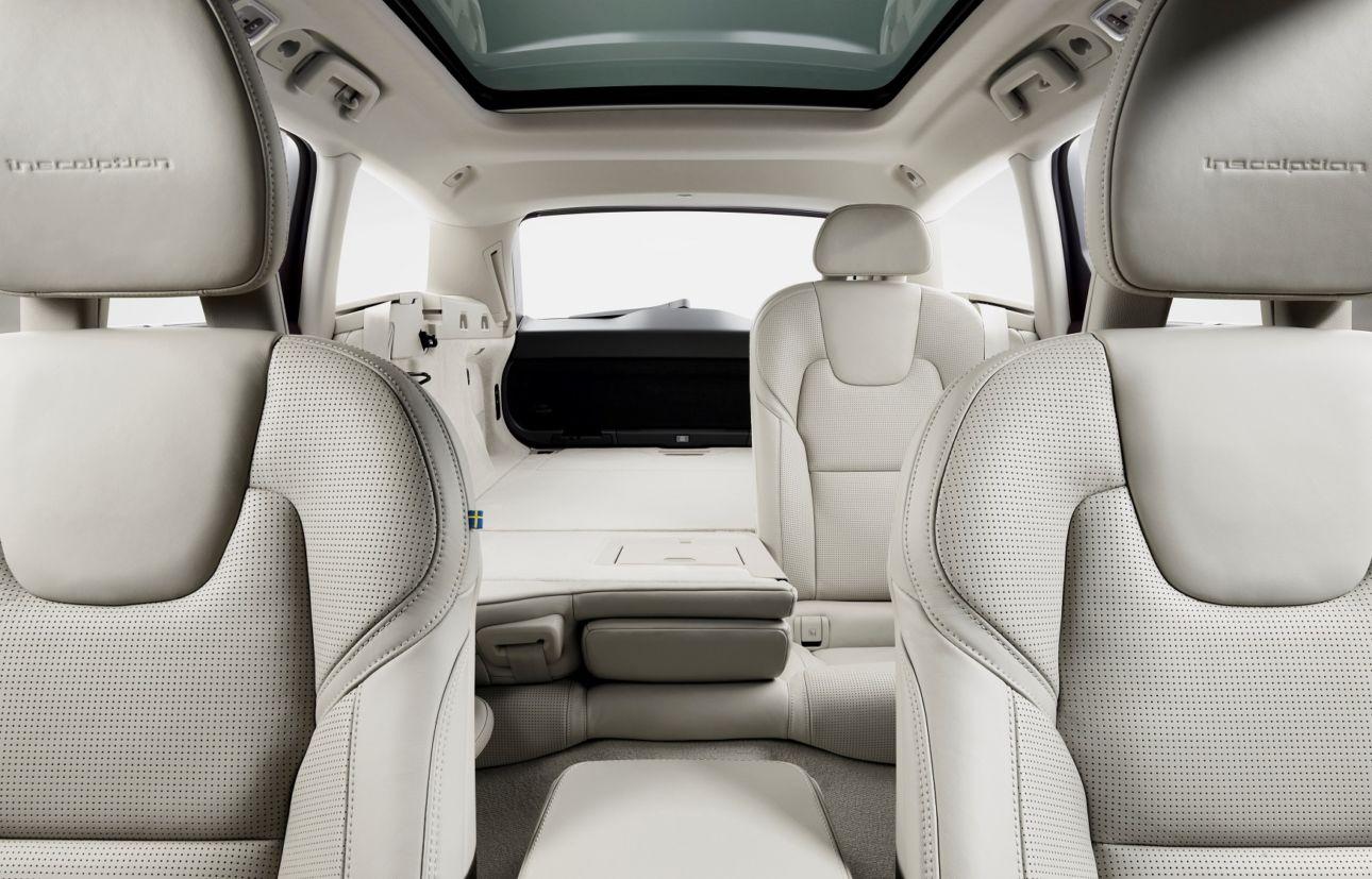 Interior do V90 (Volvo/Divulgação)