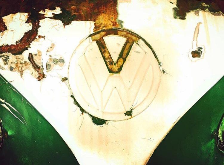 Símbolo Volkswagen Kombi 1972 verde