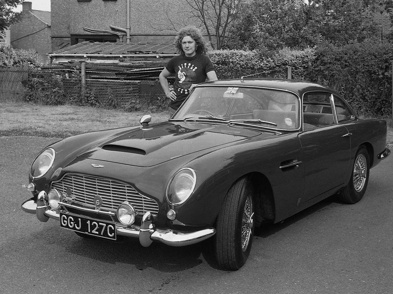 Aston Martin DB5 de Robert Plant