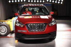 Nissan Kicks recebe quatro estrelas em teste do Latin NCAP