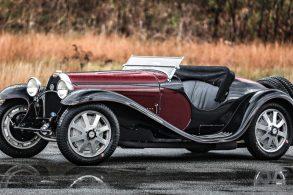 Primeiro Bugatti Type 55 Roadster da história será leiloado