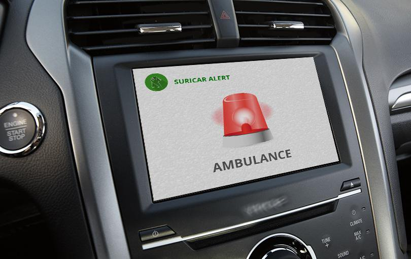 SuriCar, aplicativo para deficientes auditivos, no multimídia de um carro