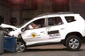 Novo Duster recebe três estrelas do Euro NCAP