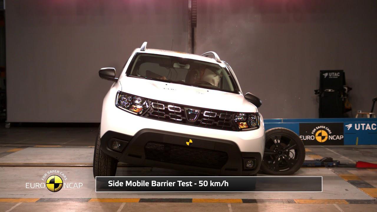 Novo Duster no Euro NCAP