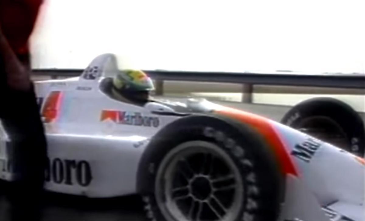 Senna na Indy: piloto brasileiro vai para a pista com o Penske PC21