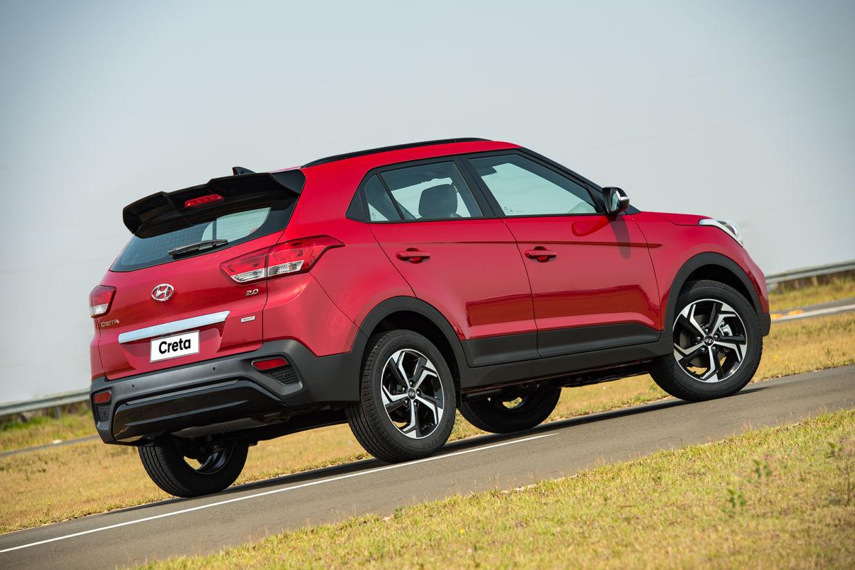Câmbio automático do Hyundai Creta 2.0 Sport tem kick down lento