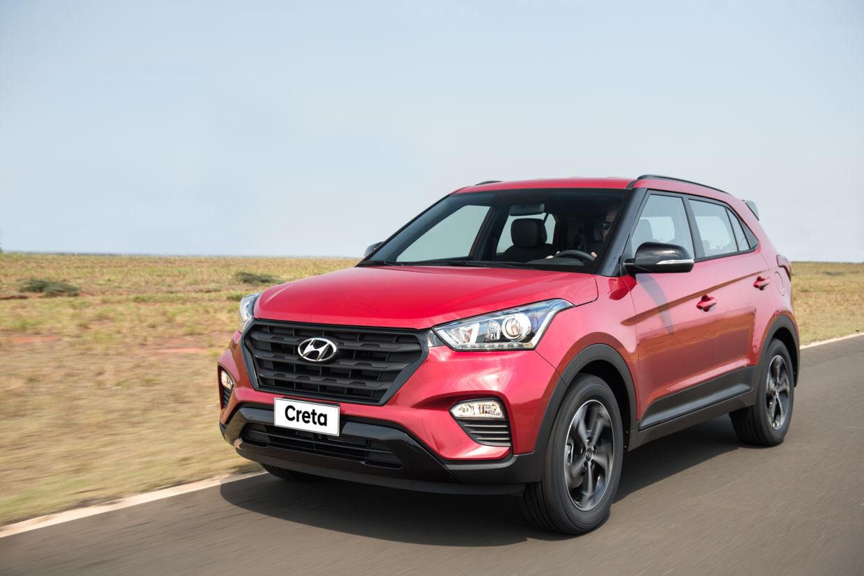 Hyundai Creta 2.0 Sport tem visual com traços retos e poucos recortes
