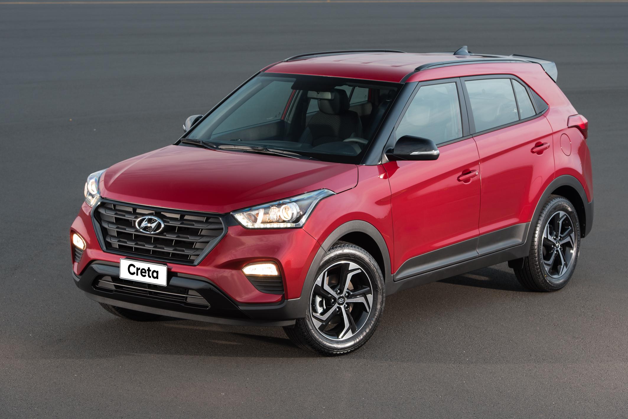 Entre as versões do Hyundai Creta, a Sport se destaca pelo visual incrementado e o motor 2.0