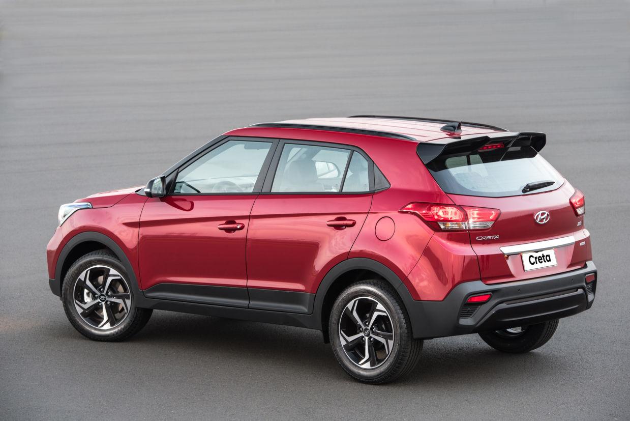 Hyundai Creta 2.0 Sport tem tamanho semelhante ao do hatch médio Golf