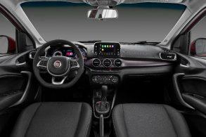 Conta-gotas: Fiat revela interior do Cronos