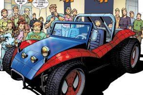 O carro do Homem-Aranha é a primeira coisa legal em 2018