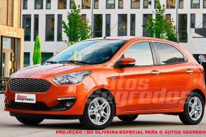 Veja como ficará o Ford Ka 2019