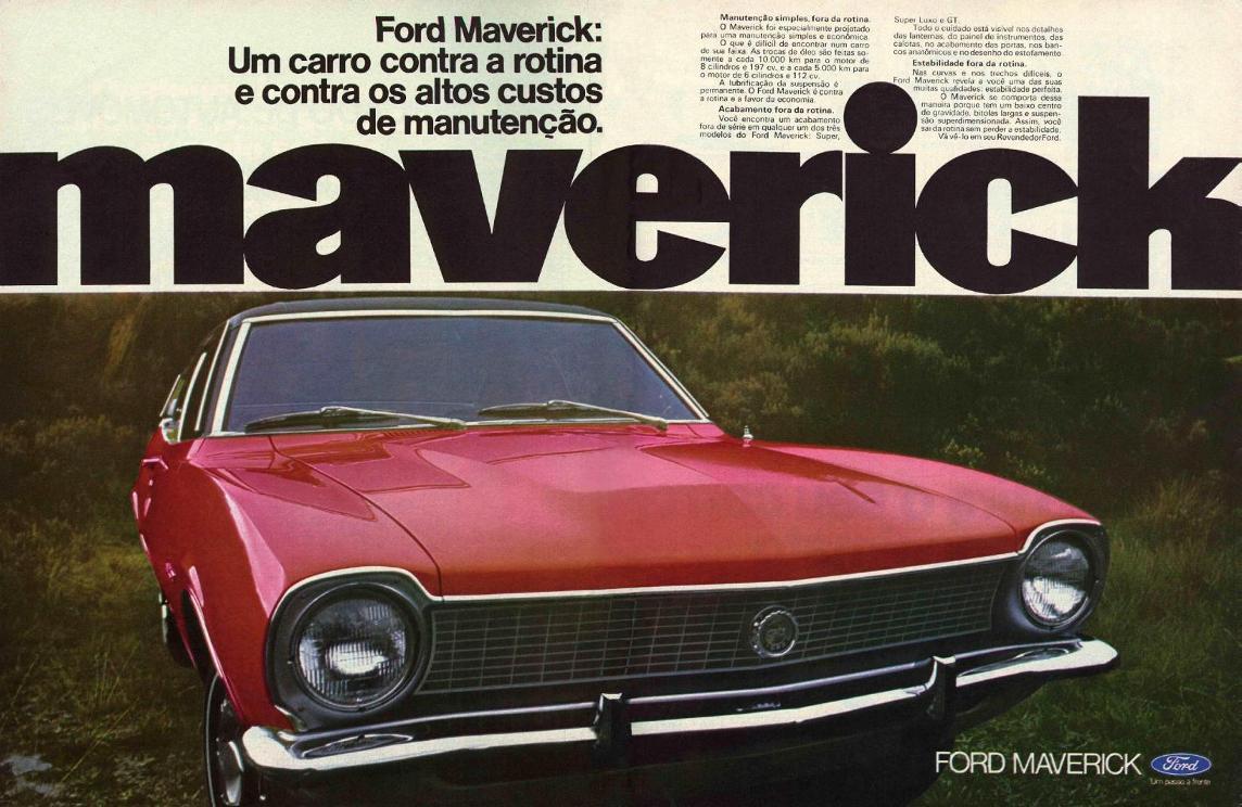 Ford Maverick teve vida curta