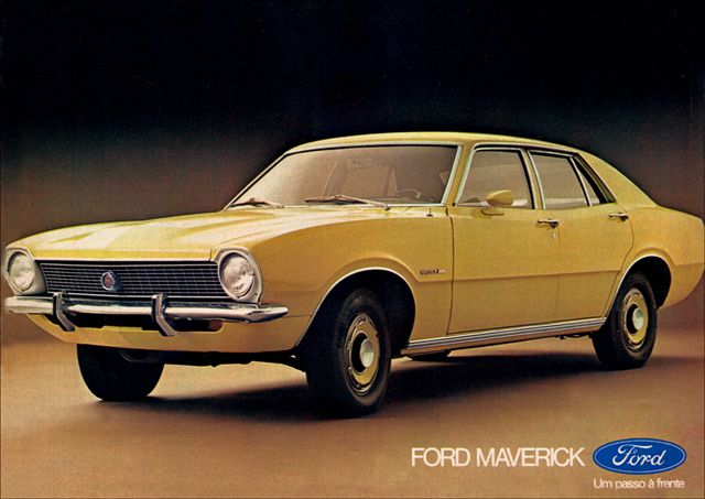 Ford Maverick 4 portas