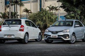 Toyota aumenta preços de Etios, Etios Sedan e SW4