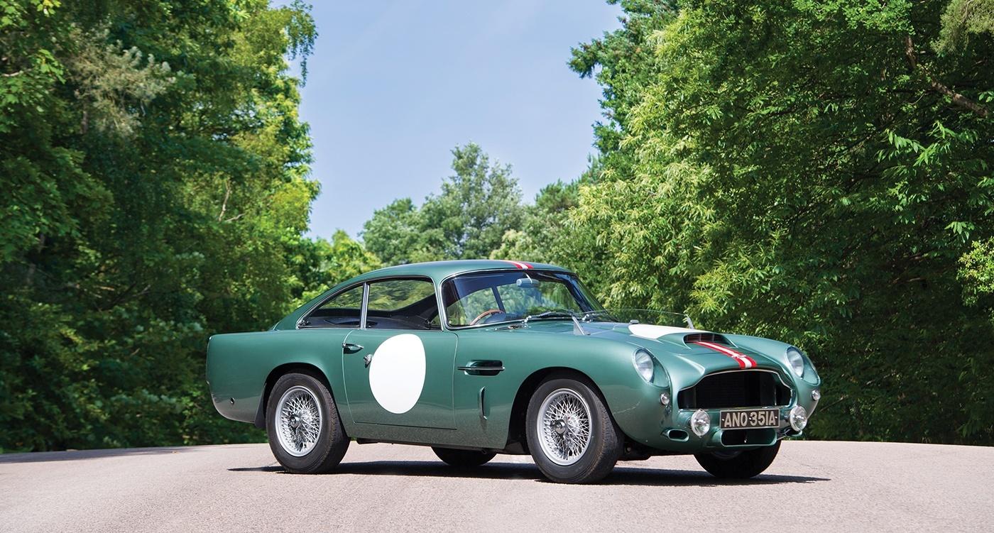 Carros clássicos mais caros de 2017: Aston Martin DB4 ficou em 10°