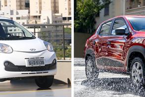 Comparativo: Chery New QQ ACT x Renault Kwid Zen