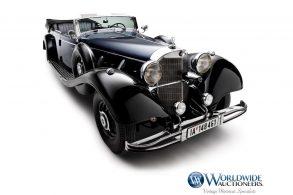 'Carro do Hitler', Mercedes 770K Grosser vai a leilão