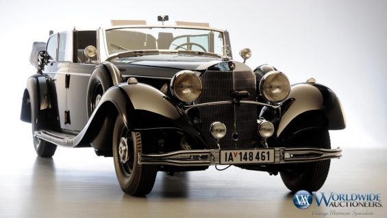 Mercedes-Benz 770K Grosser Open Tourer 1939 Foto: Worldwide Auctioneers/Divulgação