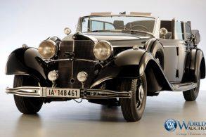 'Carro do Hitler', 770K Grosser não atingiu lance mínimo