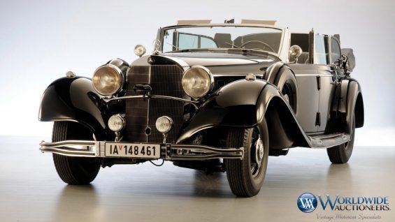 Carro do Hitler: Mercedes-Benz 770K Grosser Open Tourer 1939