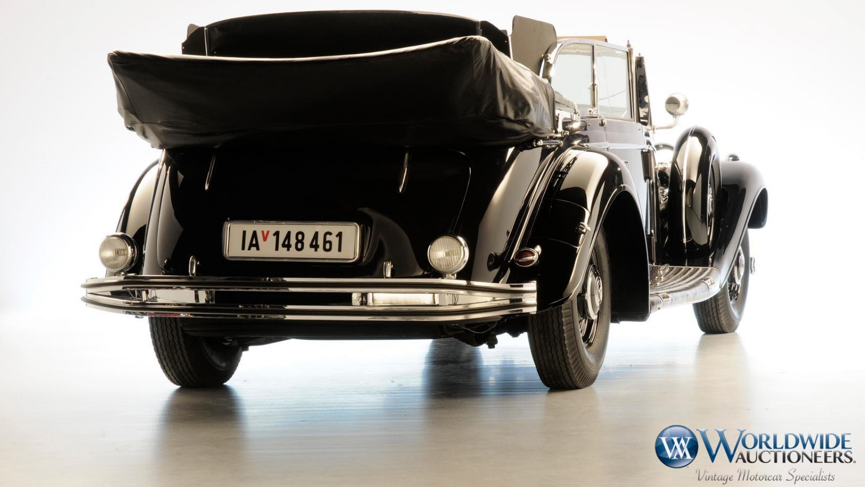 Carro do Hitler: Mercedes-Benz 770K Grosser Open Tourer 1939