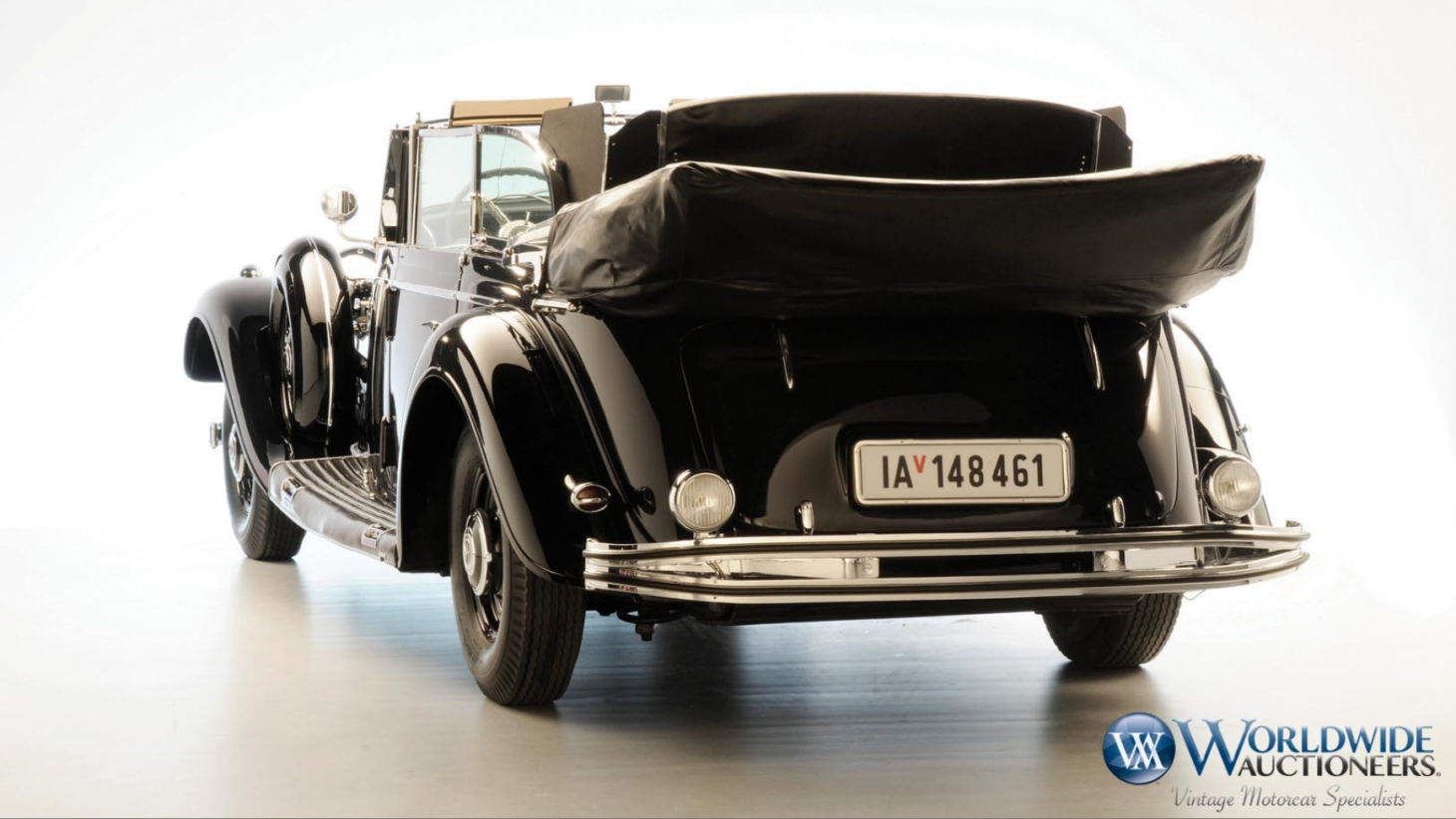 Mercedes-Benz 770K Grosser Open Tourer 1939 Foto: Worldwide Auctioneers/Divulgação