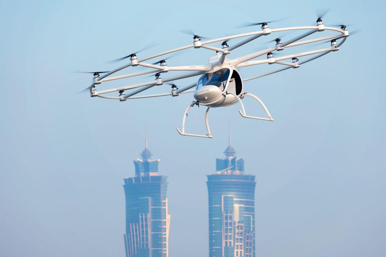 Volocopter deve entrar em operação nos primeiros anos da década de 2020