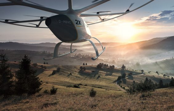 volocopter 2x mountains