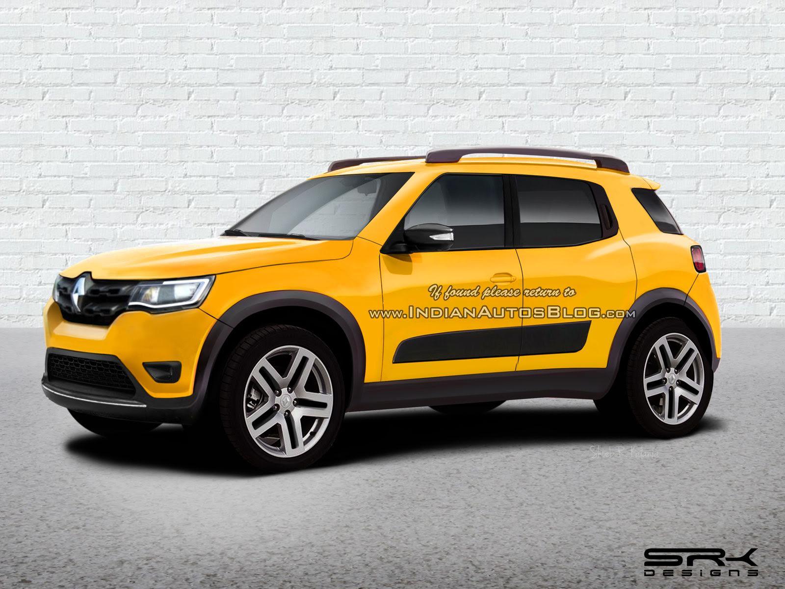 SUV do Kwid será apresentado na Índia