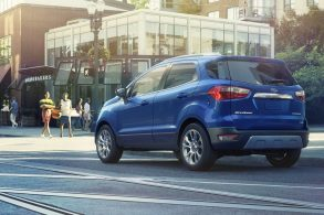 Ford quer lançar EcoSport sem estepe na tampa traseira no Brasil