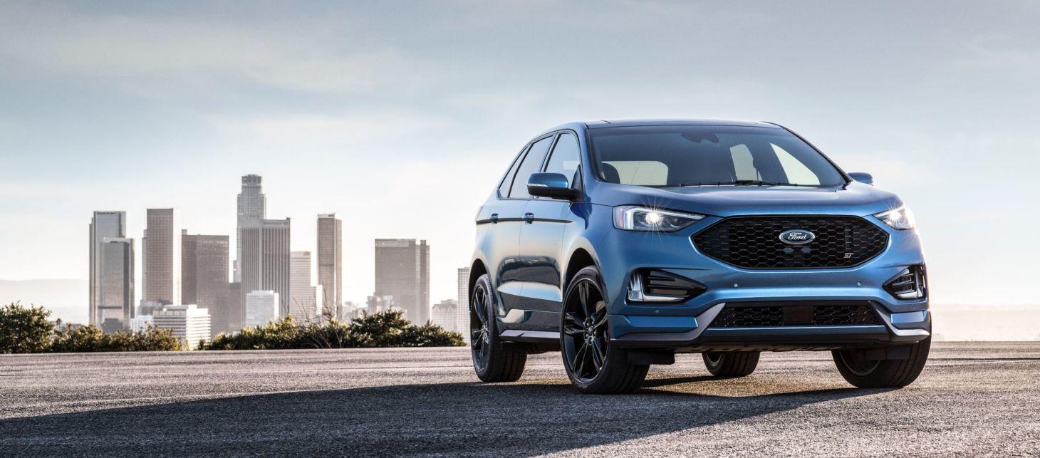 Novo Edge ganhou versão preparada pela divisão esportiva da Ford