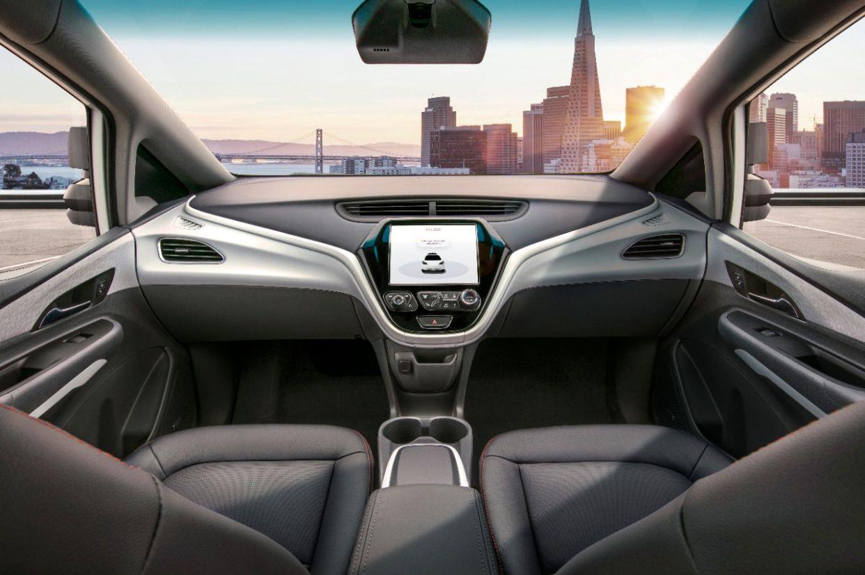 Cruise AV, proposta de carro autônomo da GM