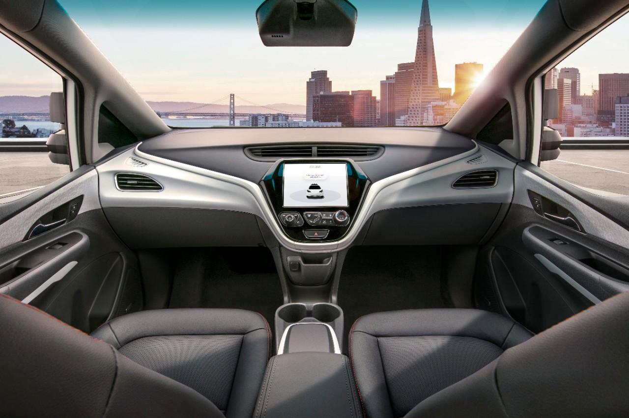 Cruze AV, autônomo da Chevrolet não tem retrovisores internos e externos, pedais ou volante