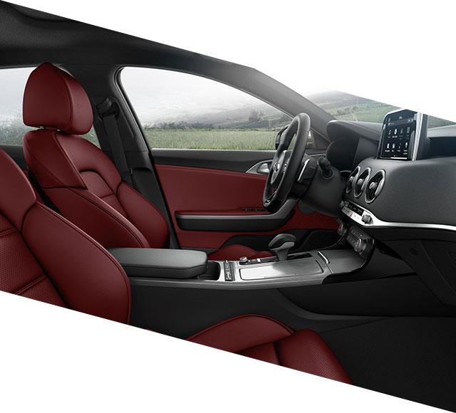 kia stinger experience mobile style interiordetails profile