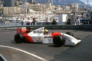 McLaren da última vitória de Senna em Mônaco vai a leilão