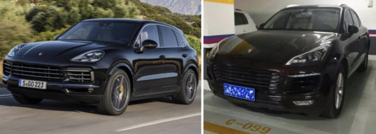 Porsche xing ling chinês namorada