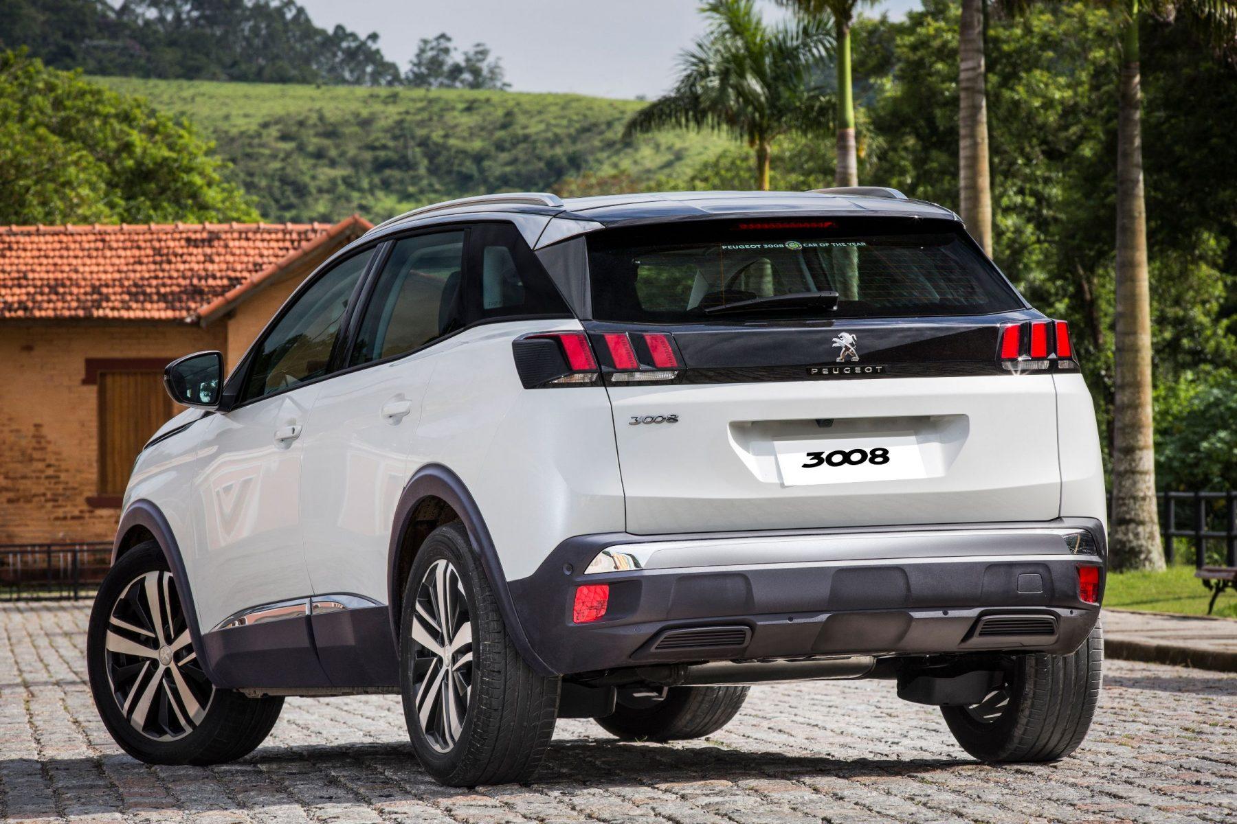Peugeot 3008 Griffe Pack é lançado por R$ 155 mil. Versão de acabamento é mais equipada no que se refere à segurança, auxílio de condução e tecnologia.