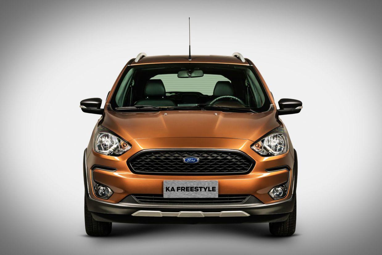 principais novidades do novo Ford Ka Freestyle