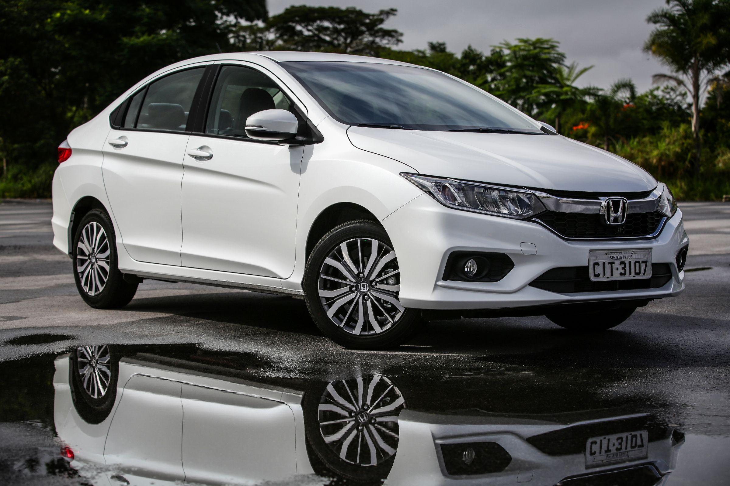 Honda City 2018 continua sem controles de estabilidade e tração