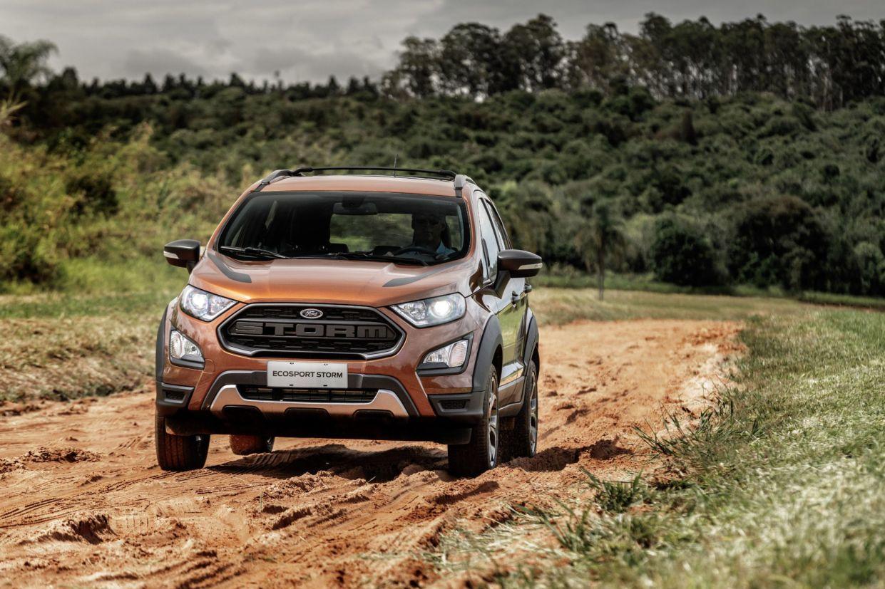 Os 7 carros 4x4 mais baratos do Brasil: Ford EcoSport Storm