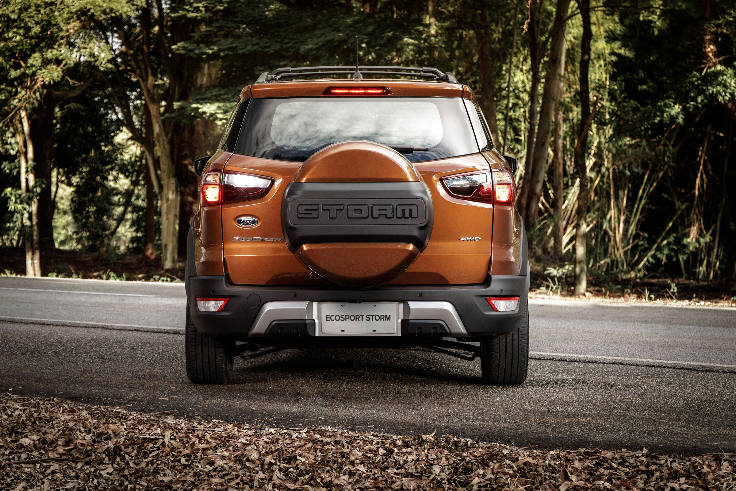Ford EcoSport Storm laranja